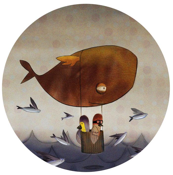 baleine-painter