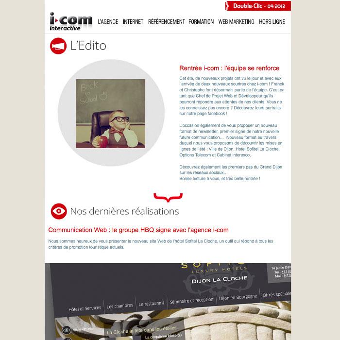 newsletter i-com