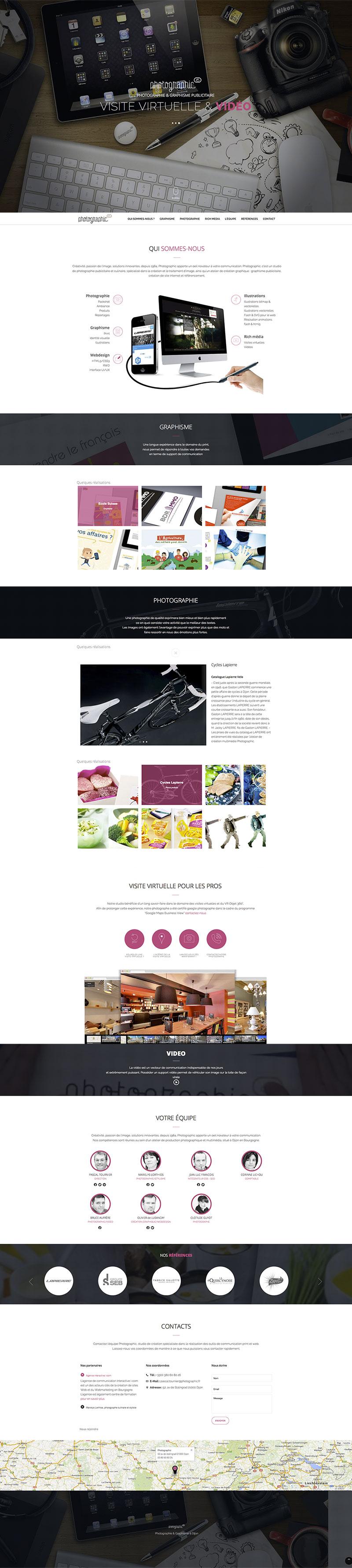 webdesign - parallax